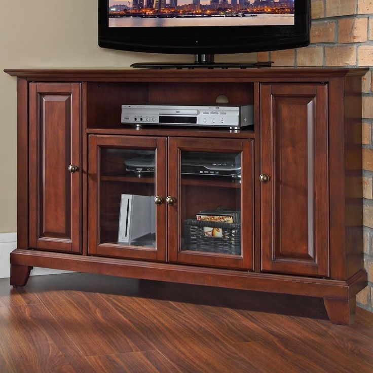 Stunning Brand New Mahogany Corner TV Stands Intended For 62 Best Furniture Images On Pinterest (Image 42 of 50)