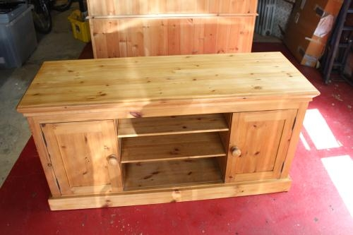 Stunning Brand New Pine Wood TV Stands With Regard To Pine Wood Tv Stand Unit Posot Class (Image 42 of 50)