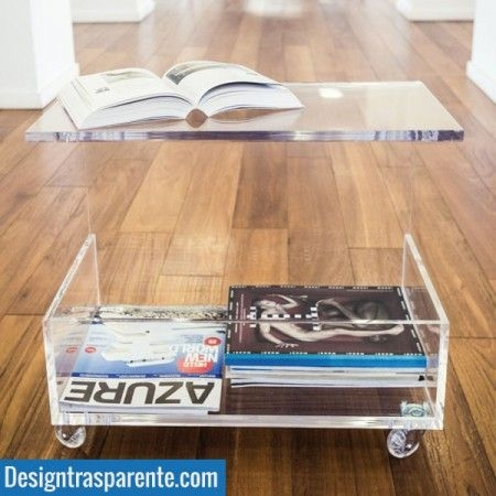 Stunning Common Acrylic Coffee Tables With Magazine Rack Inside 262 Best Acrylic Furniture Images On Pinterest Acrylic Furniture (View 11 of 40)