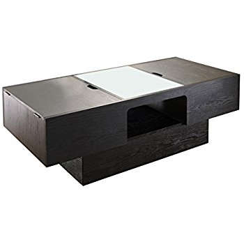Stunning Common Black Coffee Tables With Storage With Amazon Iohomes Lansing Rectangular Coffee Table With Storage (Image 38 of 40)