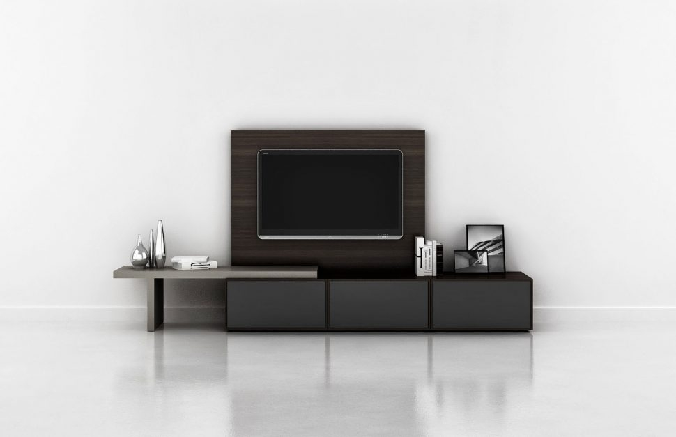 Stunning Common Long Black TV Stands With Bedroom Trendy Long Tv Stand With Unique Doors For Bedroom (View 25 of 50)