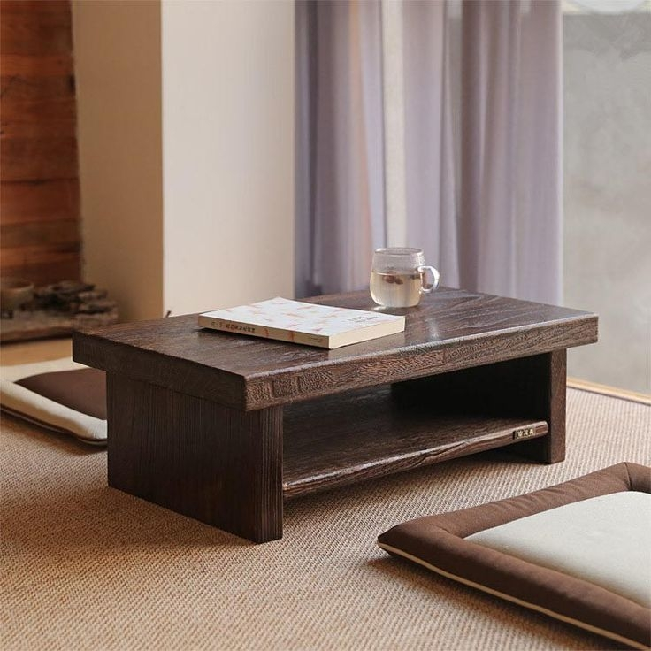 Stunning Common Low Rectangular Coffee Tables With Best 25 Japanese Coffee Table Ideas Only On Pinterest Japanese (View 27 of 50)