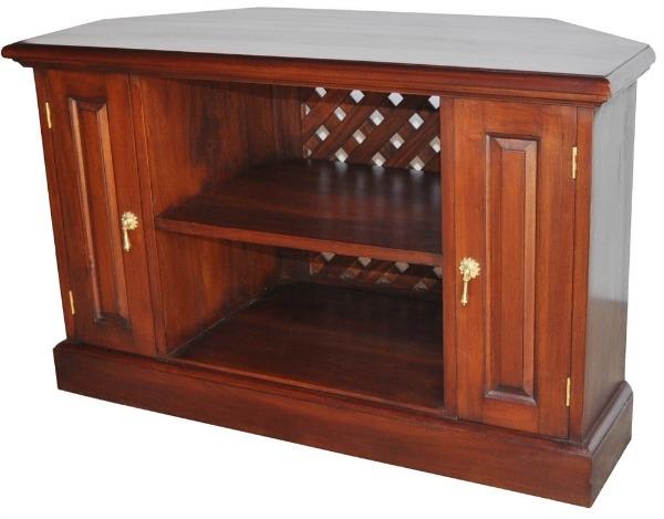 Stunning Common Mahogany Corner TV Stands Regarding Mahogany Tv Stand Corner Axiomatica (Image 43 of 50)