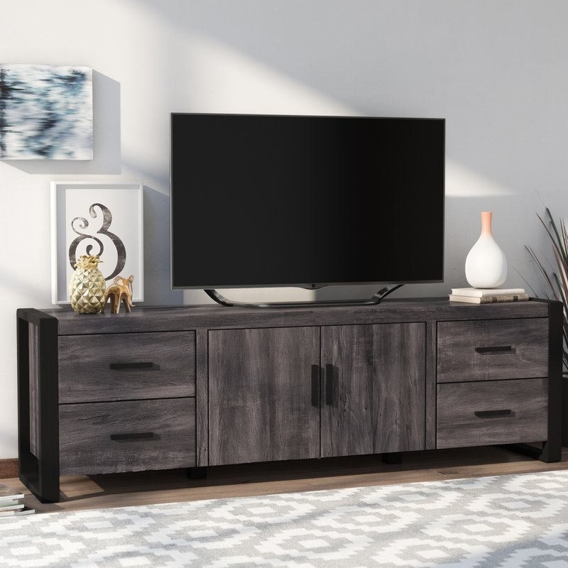 Stunning Common Modern Low Profile TV Stands For Tv Stands Entertainment Centers Youll Love Wayfair (View 22 of 50)