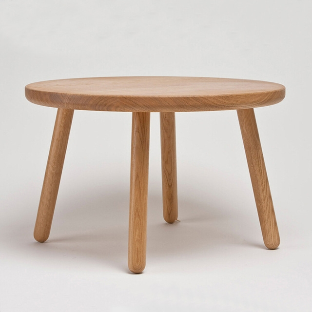 Stunning Common Round Oak Coffee Tables Pertaining To Aliexpress Buy 50 Cm Round America Oak Wooden Coffee Table (View 12 of 40)