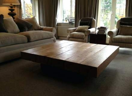 Stunning Common Square Large Coffee Tables Inside Big Square Coffee Table Wood Jerichomafjarproject (View 15 of 50)