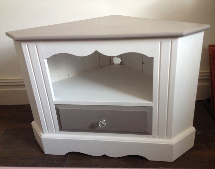 Stunning Common White Small Corner TV Stands Inside Best 25 Corner Tv Console Ideas Only On Pinterest Corner Tv (View 40 of 50)