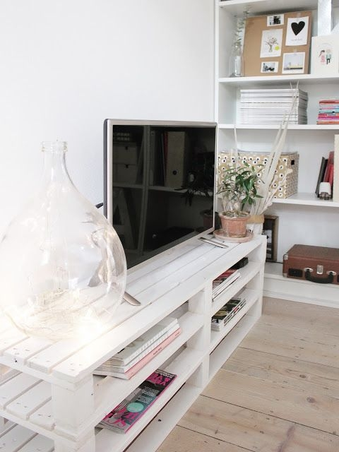 Stunning Common White Wooden TV Stands Pertaining To Best 25 Tv Stands Ideas On Pinterest Diy Tv Stand (Image 40 of 50)