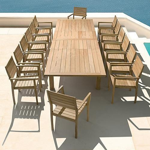 Stunning Decoration Garden Dining Tables Absolutely Smart Brown With Regard To Garden Dining Tables (Image 20 of 20)