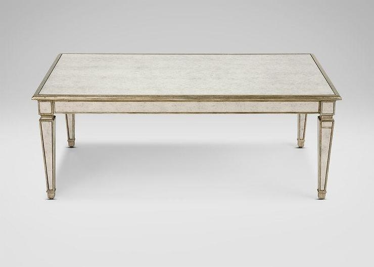 Stunning Deluxe Antique Mirrored Coffee Tables For Frame Antique Mirror Coffee Table (View 9 of 40)