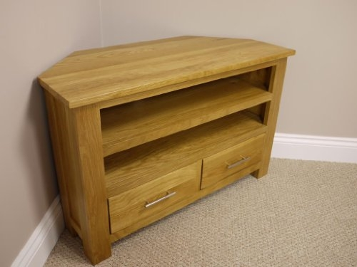 Stunning Deluxe Chunky TV Cabinets Pertaining To Oak Tv Corner Cabinet Bar Cabinet (Image 37 of 50)