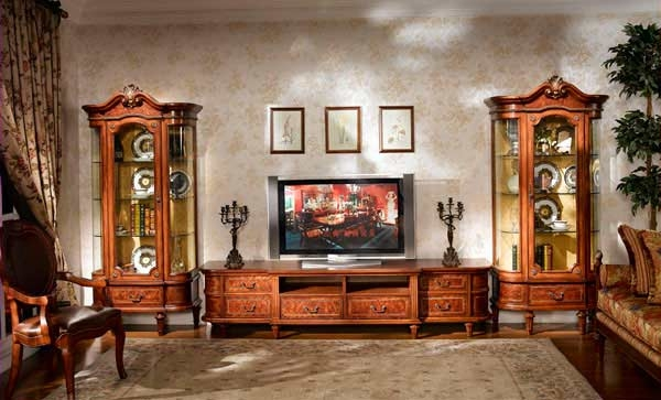 Stunning Deluxe Classic TV Stands For Classic Entertainment Collection Louis Xvi Tv Stand Tv Stands (Image 43 of 50)