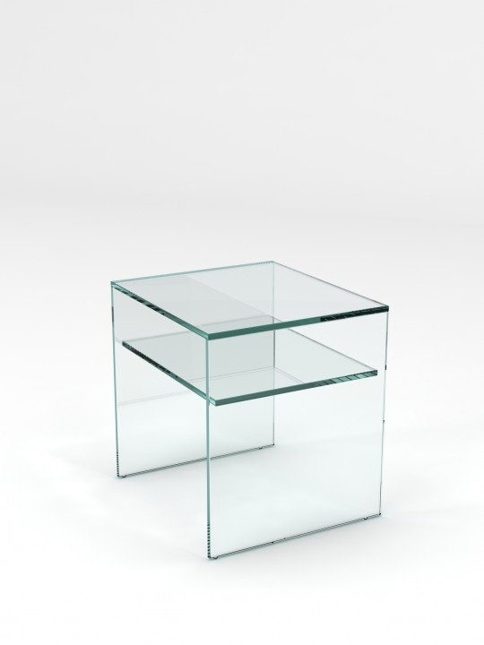 Stunning Deluxe Glass Coffee Tables With Shelf With Regard To Glass Side Table Perfect Metal And Glass Coffee Table Glassdomain (View 32 of 50)