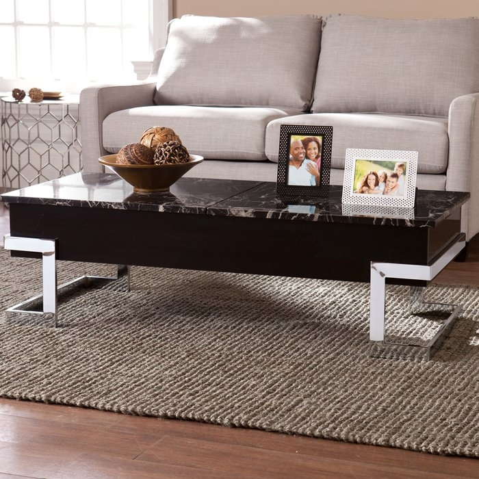 Stunning Deluxe Logan Lift Top Coffee Tables Inside Wade Logan Boone Coffee Table With Lift Top Reviews Wayfair (Image 40 of 50)