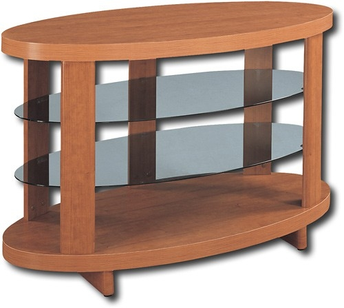 Stunning Deluxe Oval TV Stands Throughout Altra Oval Tv Stand For Flat Panel Tvs Up To 47 1126096 Best Buy (View 28 of 50)