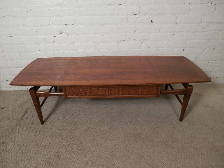 Stunning Deluxe Retro Teak Glass Coffee Tables Inside Living Room The Swedish Mid Century Modern Teak Coffee Table Or (View 25 of 50)