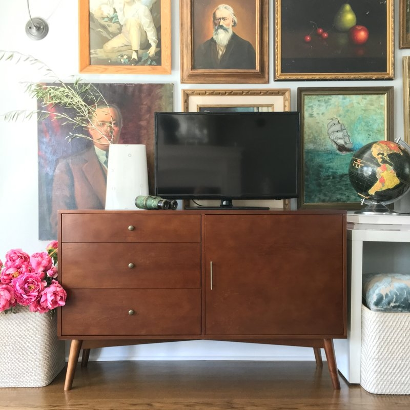 Stunning Deluxe Sideboard TV Stands With Angelohome 52 Tv Stand Reviews Wayfair (View 21 of 50)
