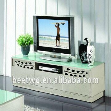 Stunning Deluxe Wood TV Stands With Glass Top Inside Living Romm Tempered Glass Top Lcd Tv Cabiner Wood Tv Stand (Image 41 of 50)