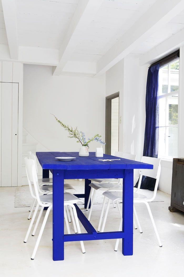 Stunning Design Blue Dining Table Awesome Ideas Blue Dining Table Intended For Blue Dining Tables (Image 17 of 20)