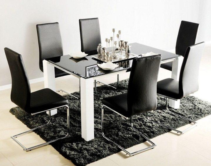 Stunning Dining Tables 6 Chairs Glass Table And Chairs Chair With Regard To Dining Tables And 6 Chairs (View 18 of 20)