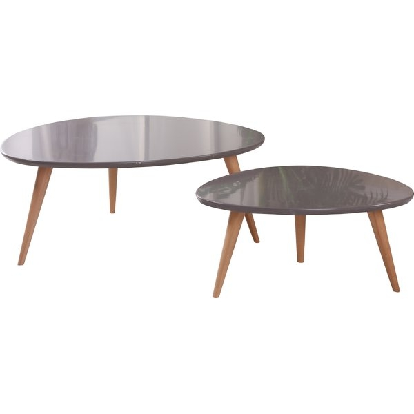 Stunning Elite 2 Piece Coffee Table Sets With Container Isabella 2 Piece Coffee Table Set Reviews Wayfair (View 9 of 50)