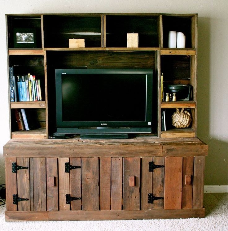 Stunning Elite Classy TV Stands Intended For Top 25 Best Pallet Entertainment Centers Ideas On Pinterest (View 33 of 50)