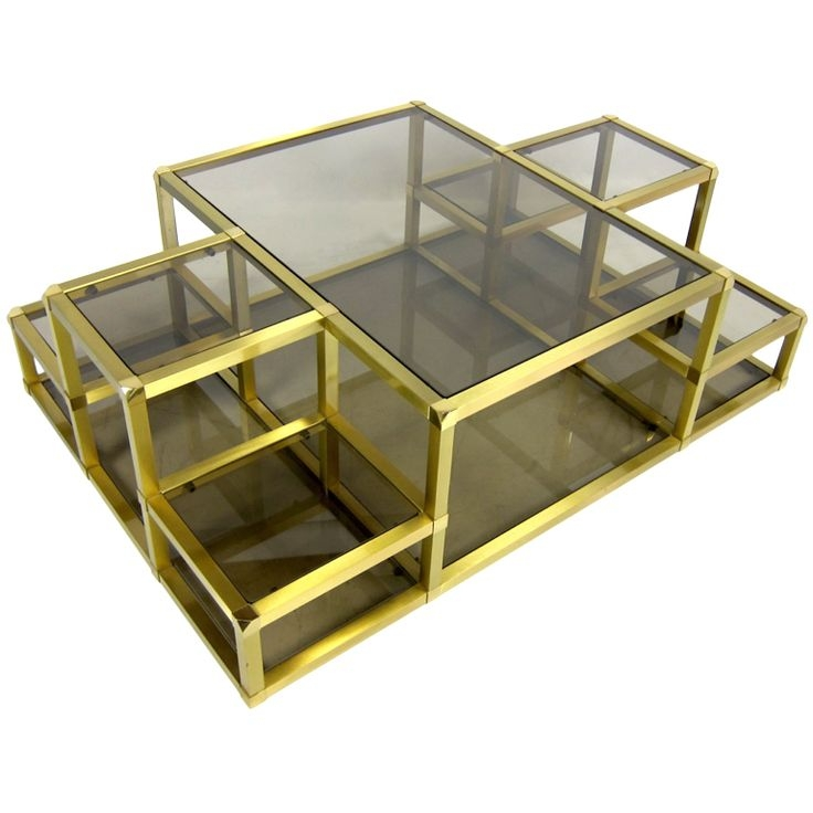 Stunning Elite Retro Smoked Glass Coffee Tables Within 114 Best Coffee Tables Images On Pinterest Coffee Tables (View 25 of 40)