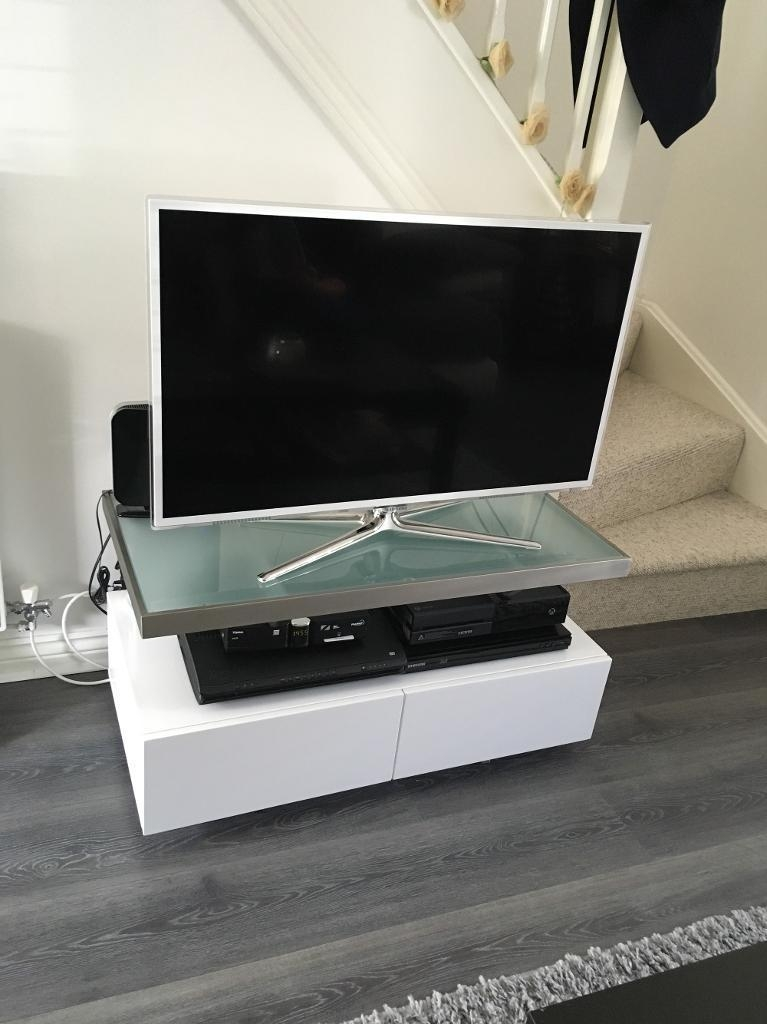 Stunning Famous Dwell TV Stands Within Dwell Tv Stand White Gloss In Bromley London Gumtree (Image 42 of 50)