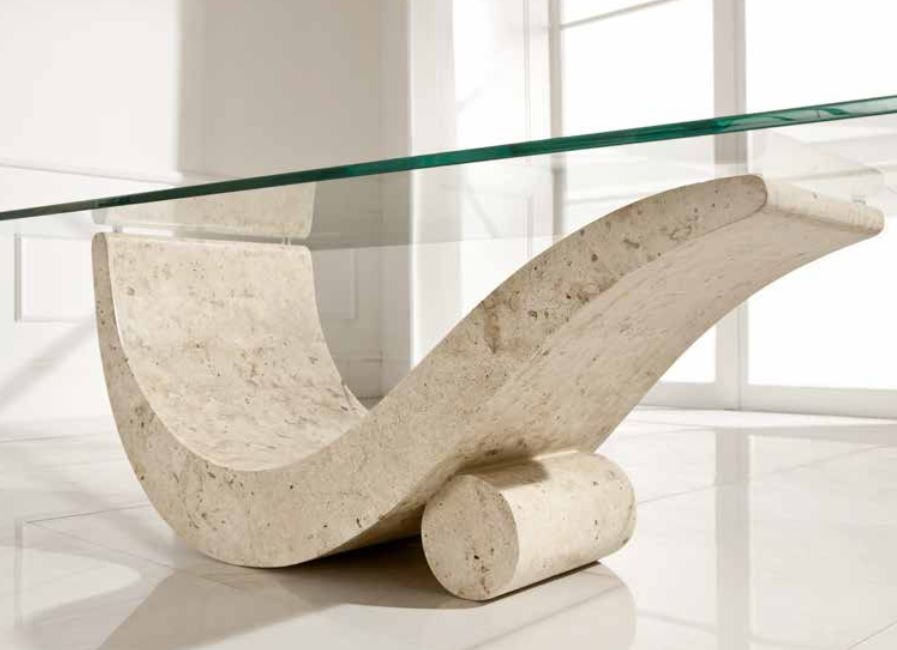 Stunning Famous Glass And Stone Coffee Table Within Trends Stone Coffee Table Home Design John (Image 41 of 50)