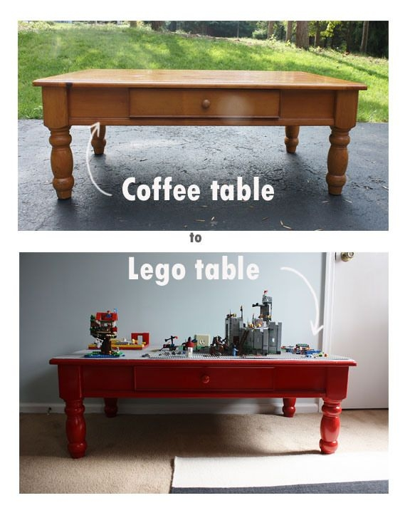 Stunning Famous Kids Coffee Tables Inside Best 20 Lego Table Ideas On Pinterest Diy Lego Table Boys Room (Photo 30 of 50)