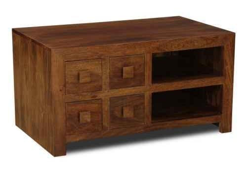 Stunning Famous Mango TV Stands Within Solid Wood Mango Tv Units Trade Furniture Company (View 10 of 50)