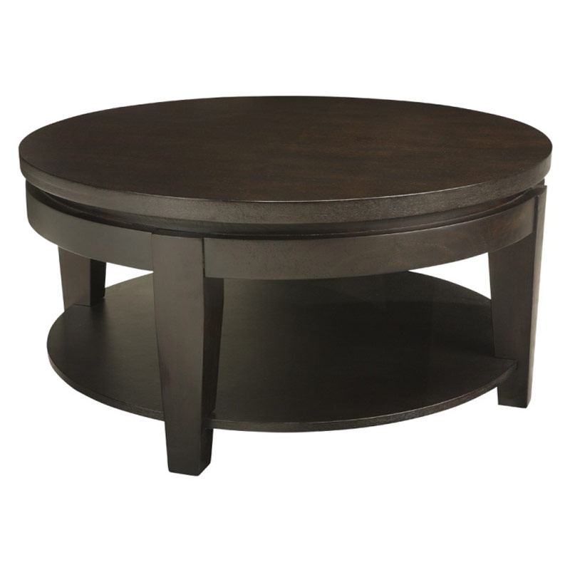 Stunning Famous Square Dark Wood Coffee Tables Throughout Round Or Square Coffee Table (Image 42 of 50)