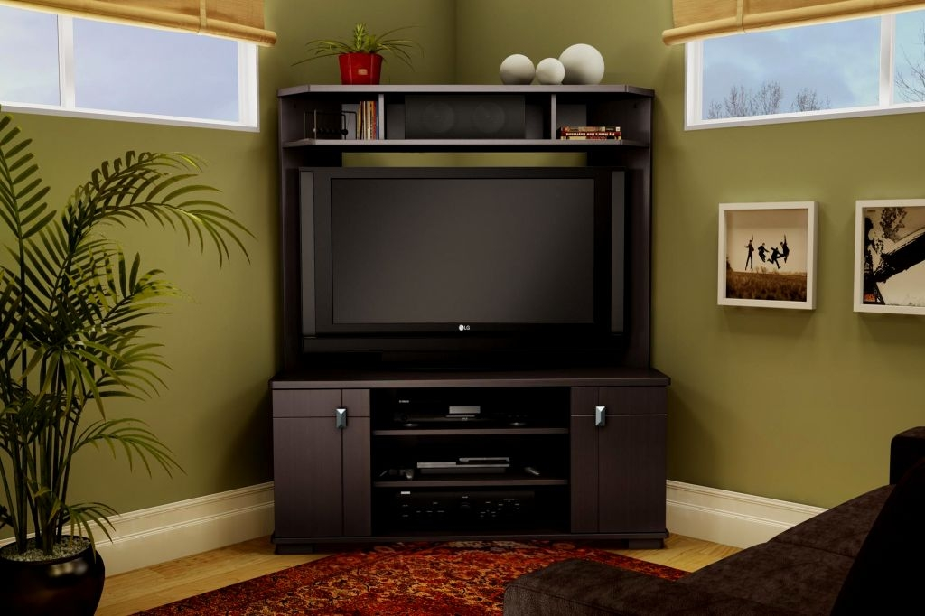 Stunning Fashionable Cream Corner TV Stands Pertaining To Tv Stands Adjustable Height Tall Tv Stand With Mount Awesome (Image 48 of 50)