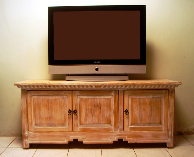 Stunning Fashionable Honey Oak TV Stands Intended For Southwest Curved Flat Screen Tv Stands Cabinets Plasma Lcd Tv (Image 43 of 50)