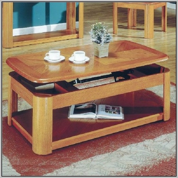 Stunning Fashionable Logan Lift Top Coffee Tables Intended For Logan Cherry Lift Top Coffee Table Coffee Table Home (Image 42 of 50)