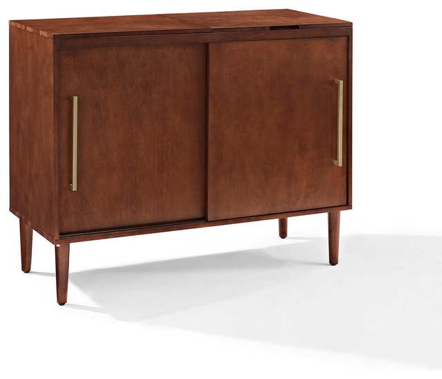 Stunning Fashionable Mahogany TV Stands Inside Everett Media Console Mahogany Finish Contemporary (Image 45 of 50)