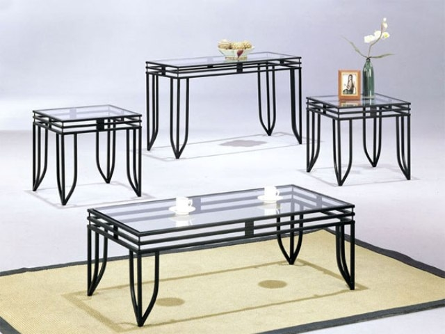 Stunning Fashionable Metal And Glass Coffee Tables Pertaining To Glass Top Coffee Table With Metal Base (Image 39 of 50)