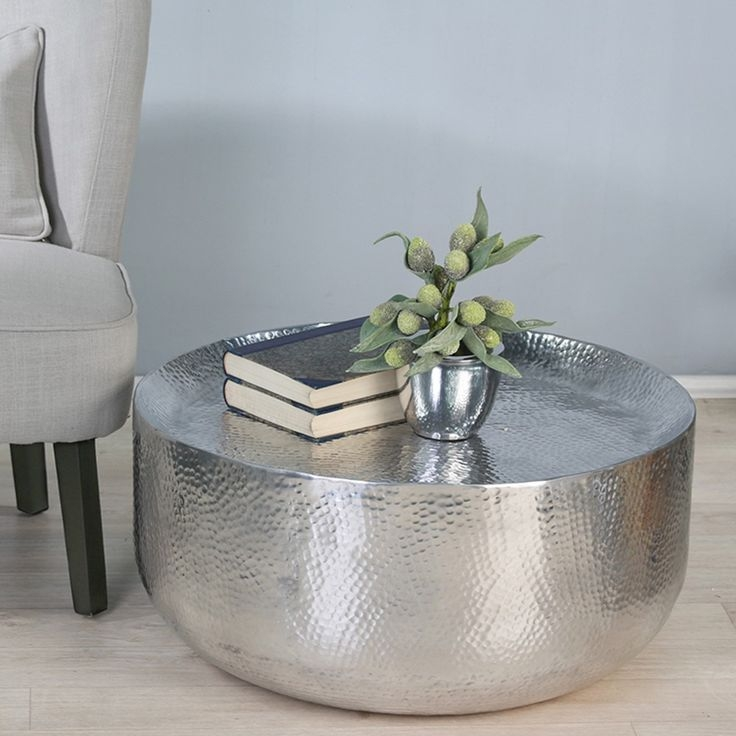 Stunning Fashionable Silver Drum Coffee Tables Throughout Best 25 Metal Coffee Tables Ideas On Pinterest Best Coffee (Image 43 of 50)