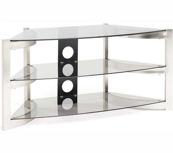 Stunning Fashionable Smoked Glass TV Stands With Regard To Techlink Sk100tc Tv Stands (View 37 of 50)