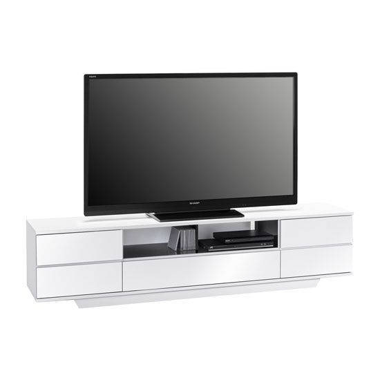 Stunning Fashionable White Gloss TV Stands With Drawers Inside 44 Best Sitting Room Images On Pinterest Sitting Rooms High (Image 41 of 50)