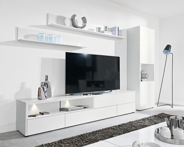Stunning Fashionable White Tall TV Stands In Best 20 Tall Tv Stands Ideas On Pinterest Tall Entertainment (Image 44 of 50)