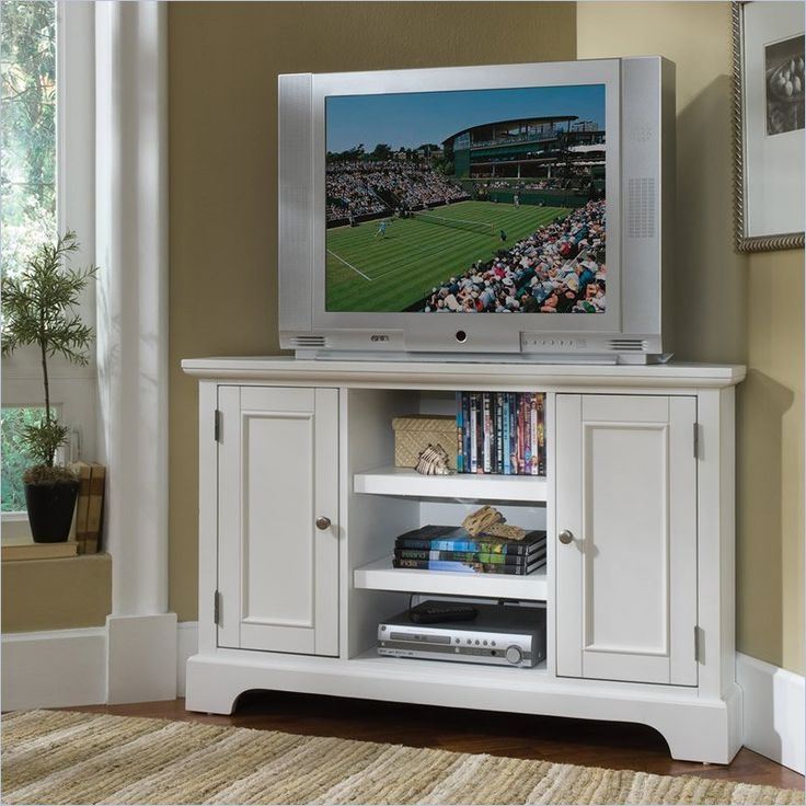 Stunning Fashionable White Tall TV Stands Intended For Best 25 Tall Corner Tv Stand Ideas On Pinterest Tall (Image 45 of 50)