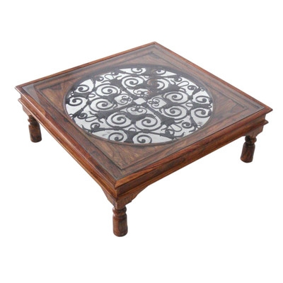Stunning Favorite Ethnic Coffee Tables With Ethnic Elements Ganga Sheesham Coffee Table Reviews Wayfaircouk (Image 40 of 50)