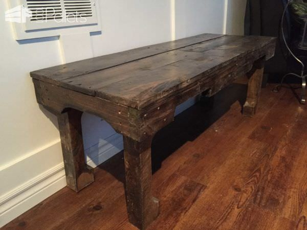 Stunning Favorite Long Coffee Tables In A Dark Walnut Extra Long Coffee Table Pallet Ideas 1001 Pallets (View 33 of 50)