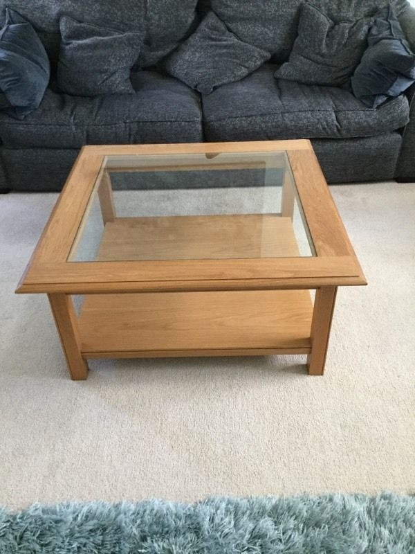 Stunning Favorite M&S Coffee Tables Intended For Ms Coffee Table Excellent Condition In Ruskington (View 22 of 37)