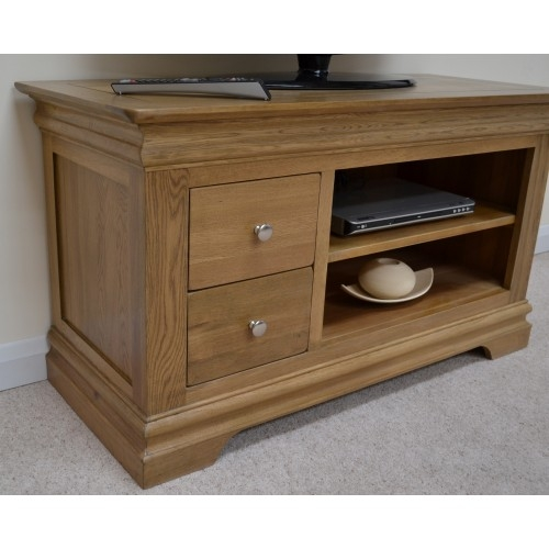Stunning Favorite Oak TV Cabinets Pertaining To Farmhouse Oak Tv Cabinet Entertainment Unit (Image 43 of 50)