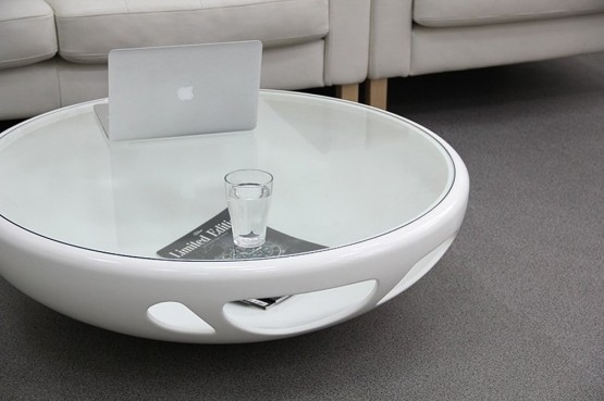 Stunning Favorite Oval White Coffee Tables Regarding White Modern Coffee Table (Image 46 of 50)
