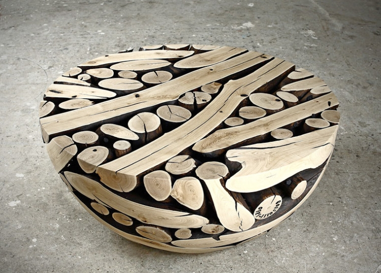 Stunning Favorite Round Pine Coffee Tables Pertaining To 30 Unique Coffee Tables Cool Design Ideas For Unusual Living (Image 42 of 50)