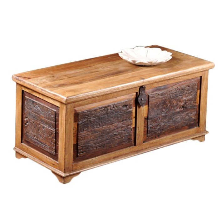 Stunning Favorite Trunk Coffee Tables Within William Sheppee Kerala Blanket Box Trunk Coffee Table Reviews (View 48 of 50)