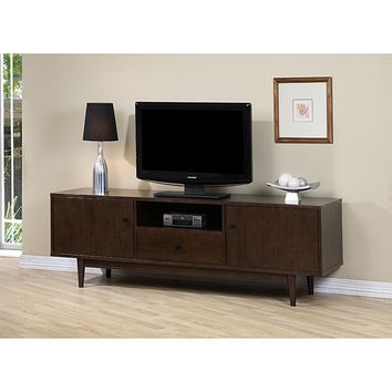 Stunning Favorite Walnut TV Stands Within Best Walnut Tv Stand Products On Wanelo (View 22 of 50)